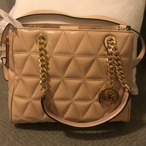 MICHAEL Michael Kors Bags - Michael Kors Susannah leather quilted small tote